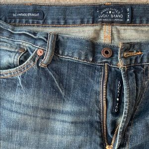 Lucky Brand 34/30 Jeans vintage straight.